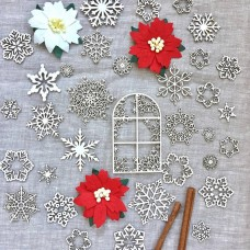 Chipboard Winter's Tale