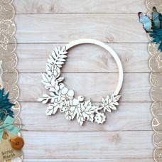 Shaker. School waltz. Large wreath of leaves