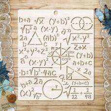 Stencil School waltz. Formulas